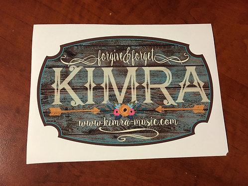 Kimra Decal