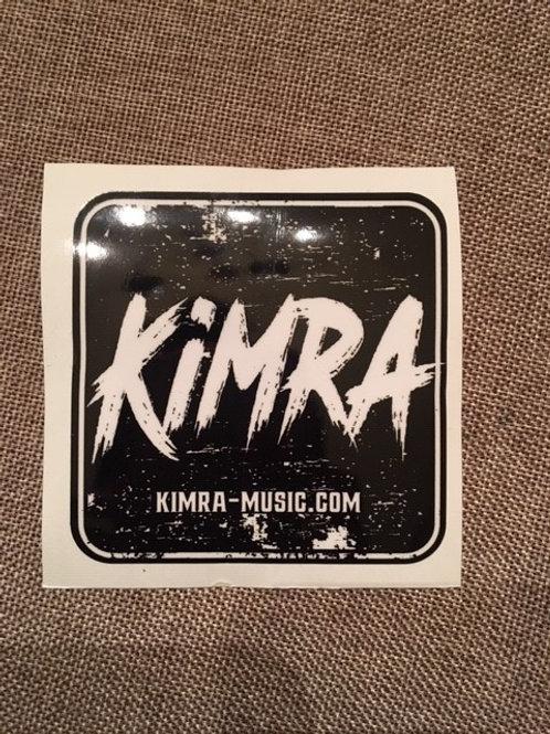 Square Black Kimra Decal