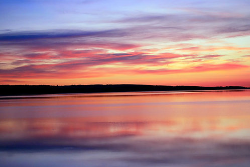 "Gallery Canvas  ""Duck Lake Sunrise""   Photographer: Sharrell Perry"