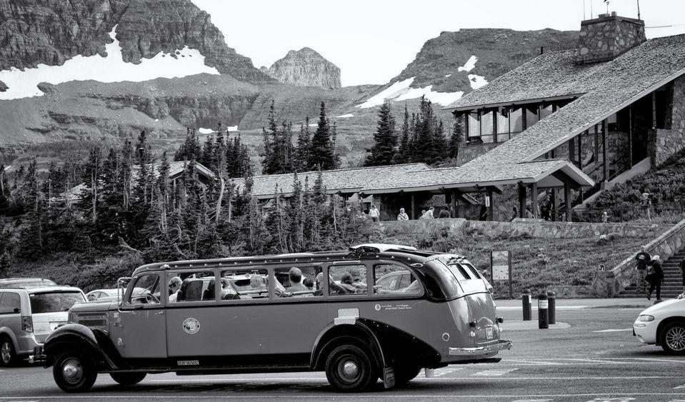 GNP red bus at summit.jpg
