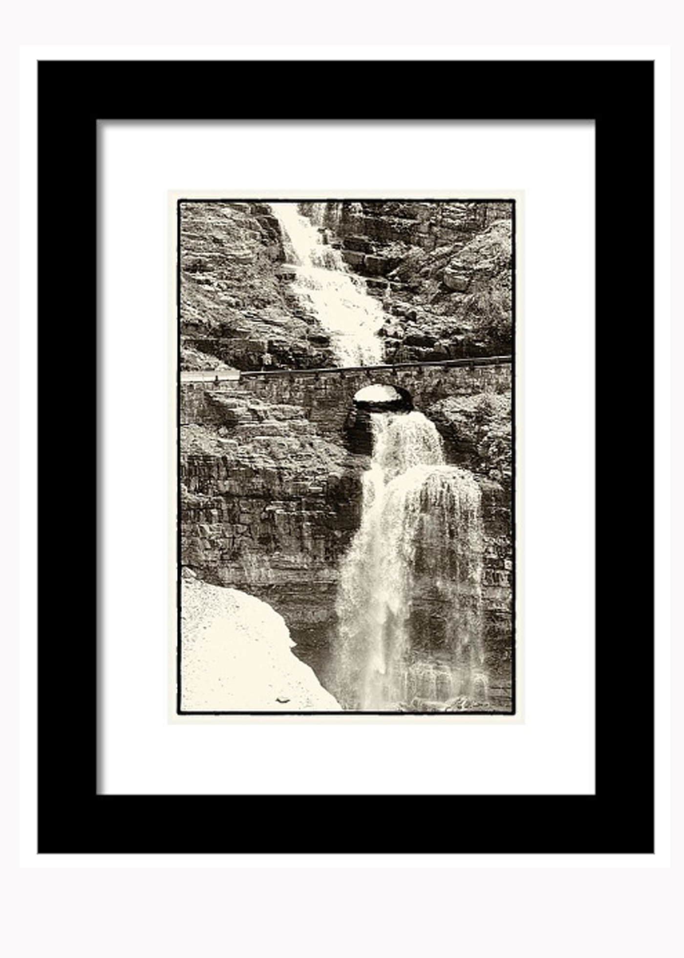 11x14 Framed print with matte