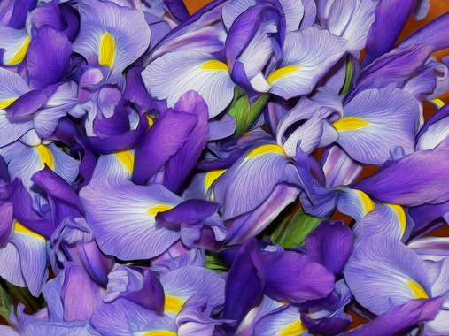 Lavendar Flowers Painting.jpg
