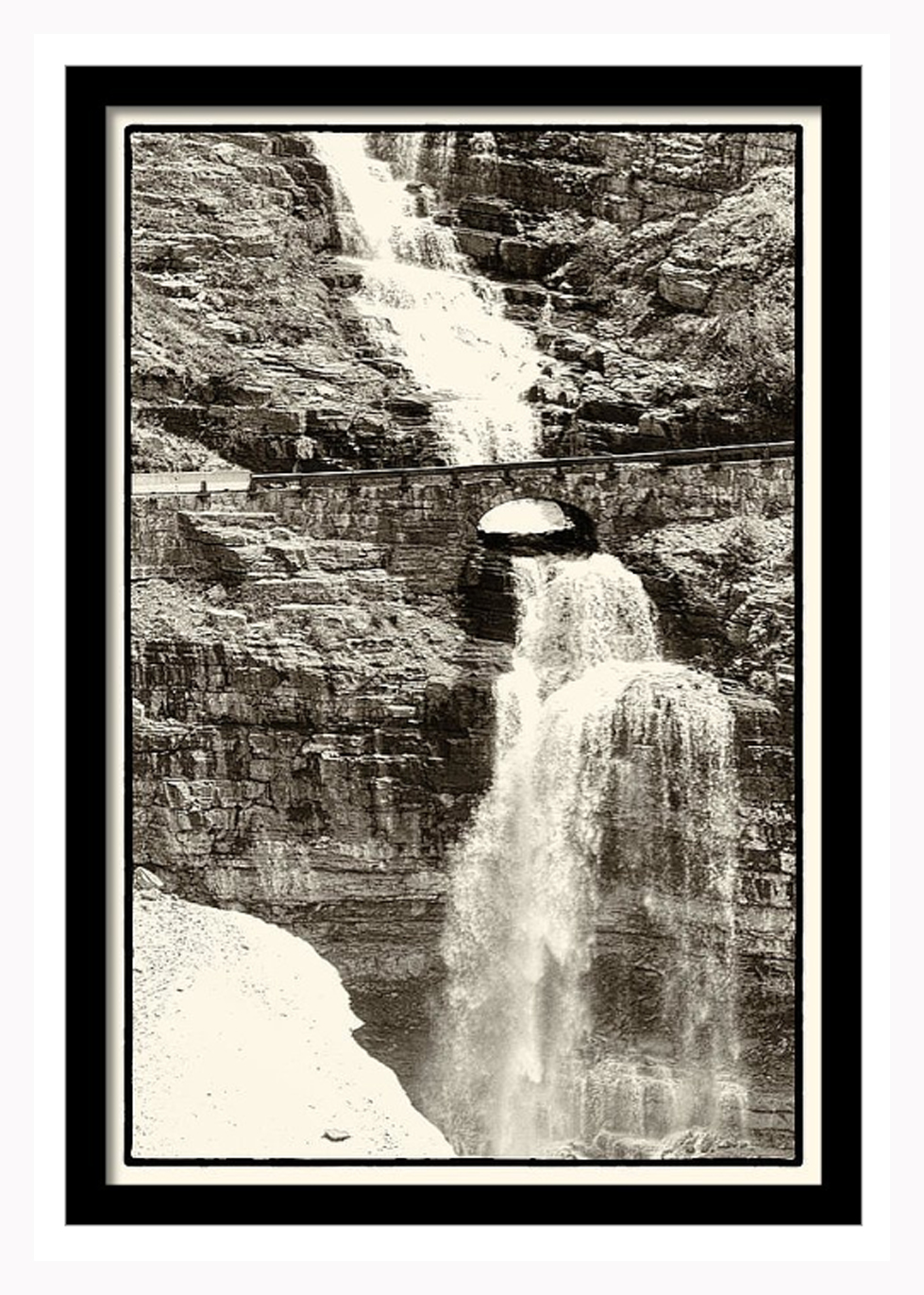 16x20 Framed print with-out matte