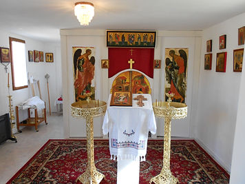 chapelle S>t Nicolas d'Ohrid FA