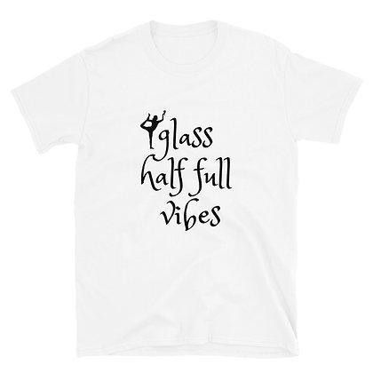 Glass 1/2 Full Tee