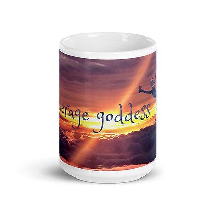 Average Goddess Signature Mug