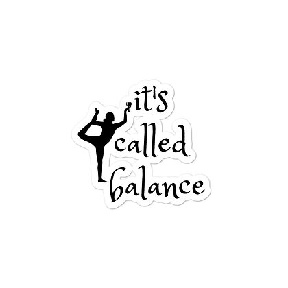It's Called Balance Stickers