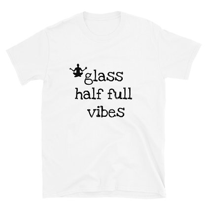Glass 1/2 Full Tee
