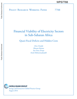 Financial Viability of Electricity Sectors in Sub-Saharan Africa