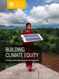 Building Climate Equity: Creating a New Approach from the Ground Up