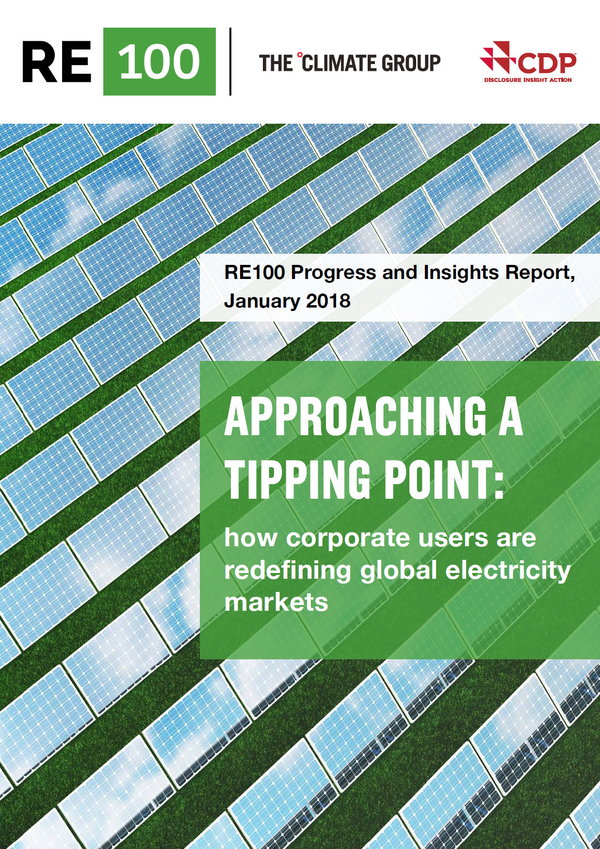 Approaching A Tipping Point: How corporate users are redefining global electricity markets