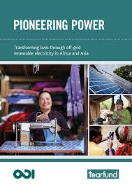 ioneering power: transforming lives through off-grid renewable energy in Africa and Asia