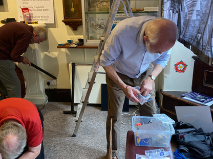 Preparing the Winchcombe Meteorite's new home