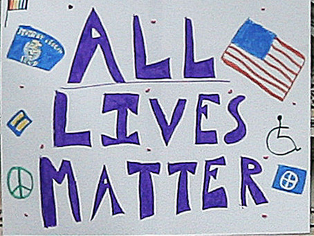 All Lives Matter is NOT racist!