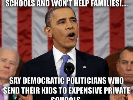 Dems Control Our Public Schools While They Send Their Own Kids To Private School
