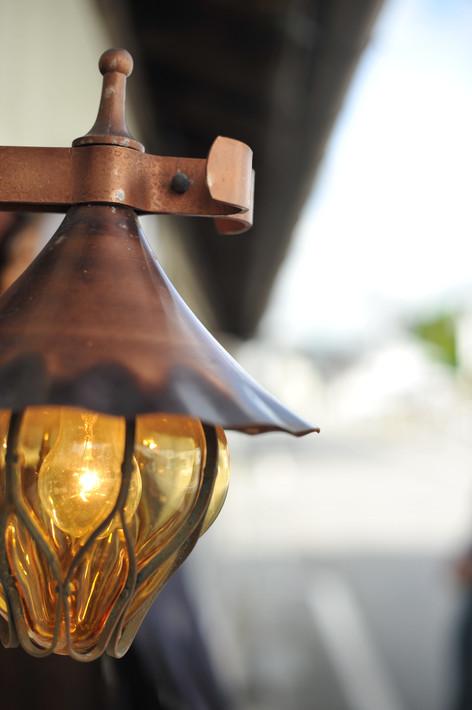 はじまるカフェ 入口 ランプ