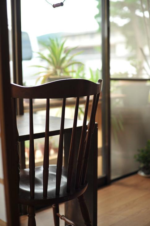 はじまるカフェ 店内 おひとりさま席