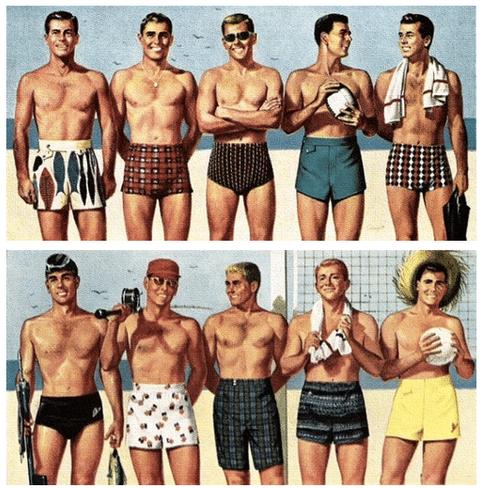 GUIDE TO MEN'S SWIMWEAR
