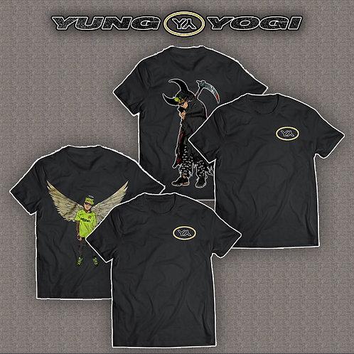 Yung Yogi Tee Bundle + FREE Signed Poster