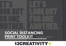 13Creativity - Social Distancing Toolkit