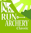 Logo for NW Run Archery Classic