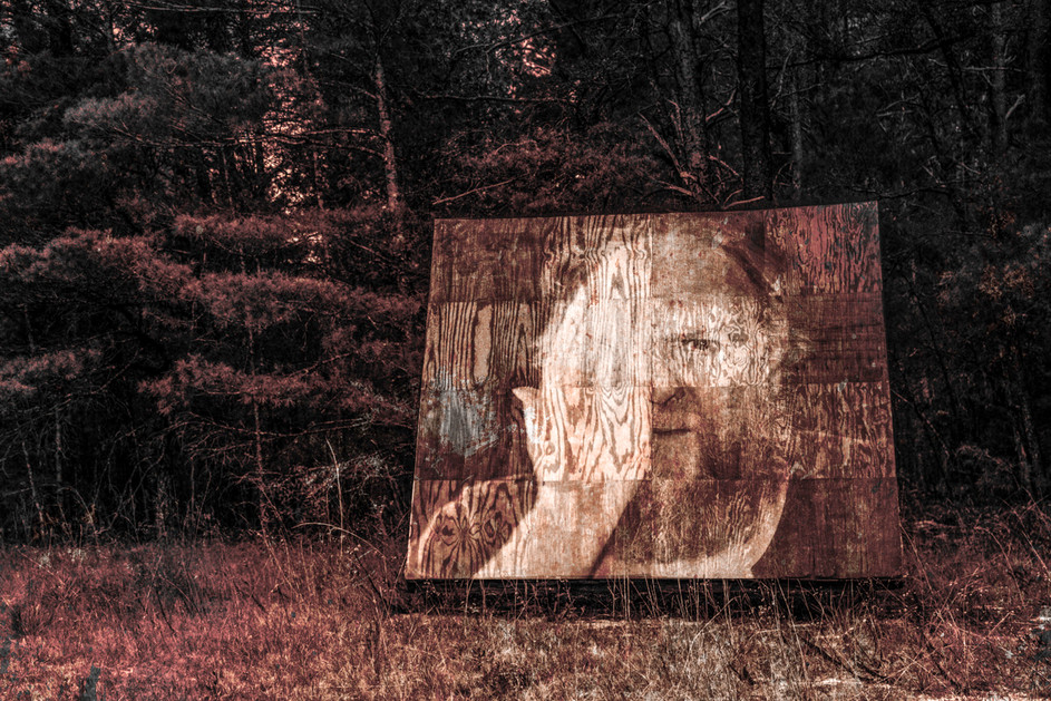 Monumental Exhibit in the Forest