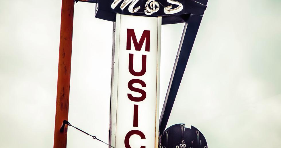 M&S Music Sign
