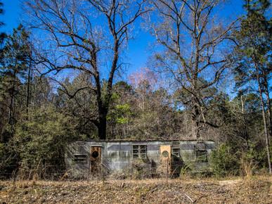 Abandoned 1950s Trailer