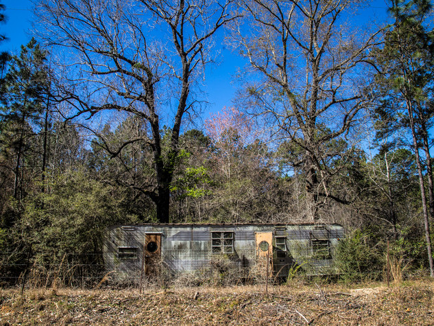 Abandoned 1950s Trailer