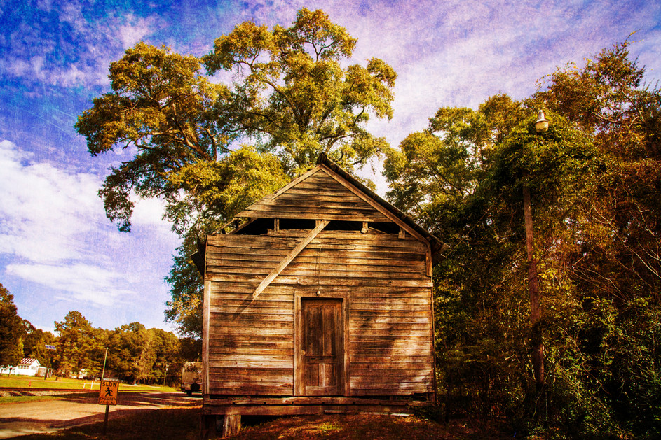 Aged Wooden Building
