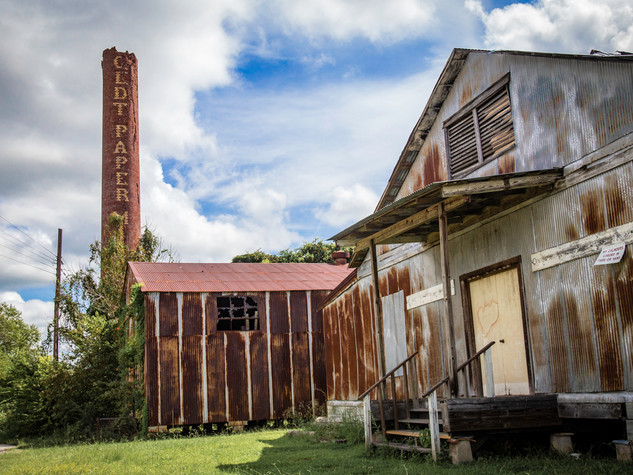 Charles Boldt Paper Mill Ruin