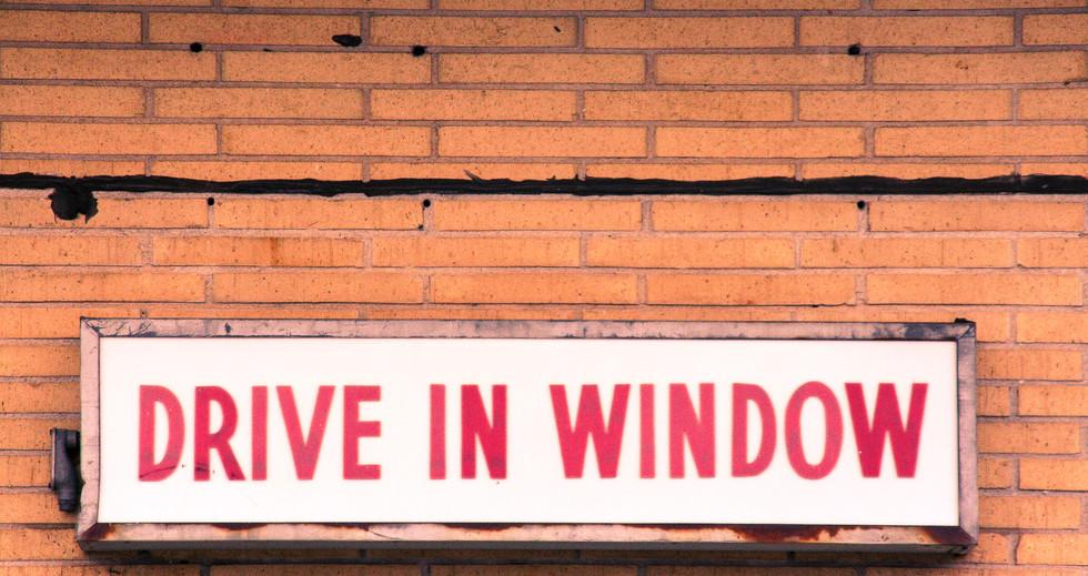 Drive In Window