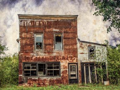 Holman's Cafe Abandoned