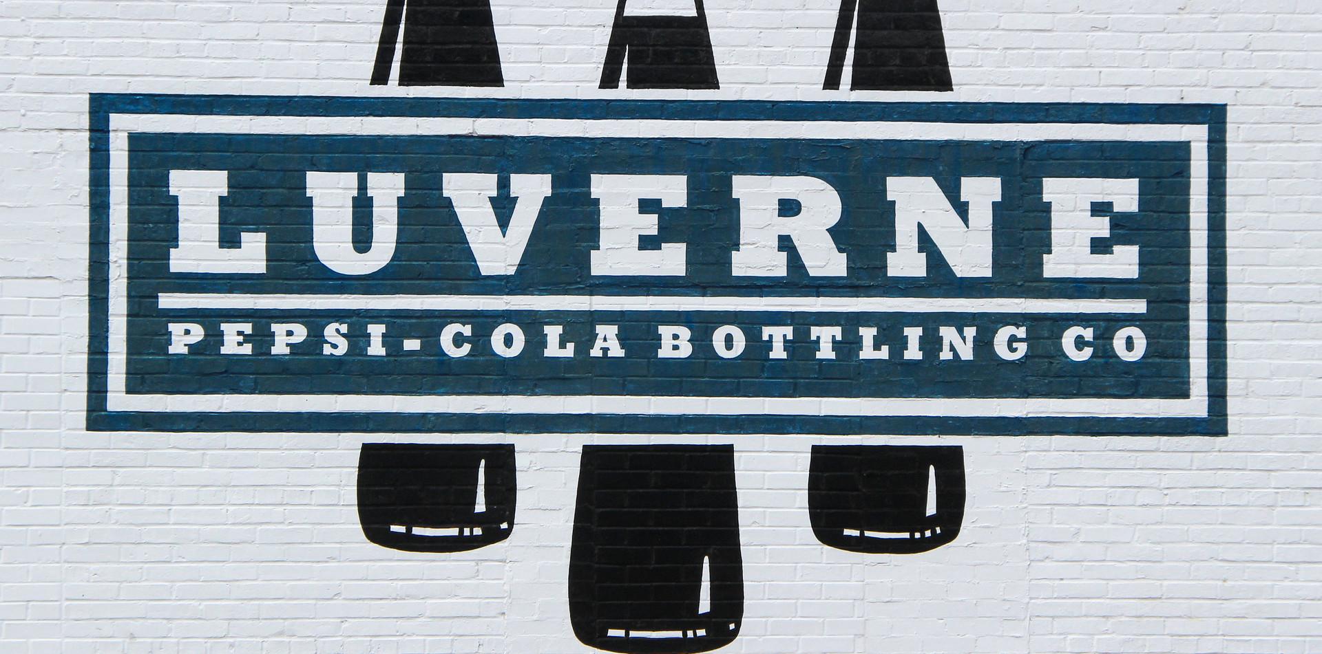 Painted Advertising Mural