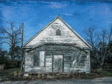 Boarded Up General Store