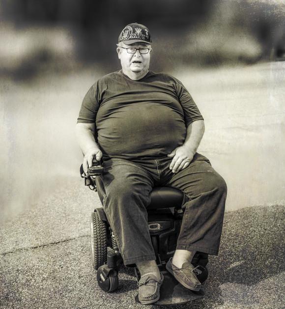 Wheelchair Bound Navy Veteren