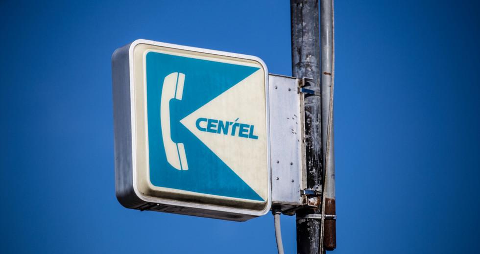 Vintage Centel Sign