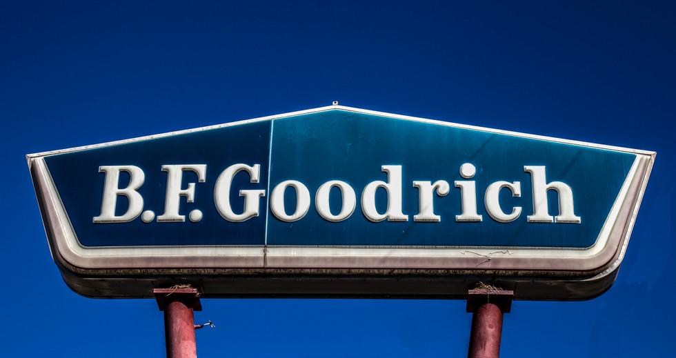 B.F. Goodrich Sign