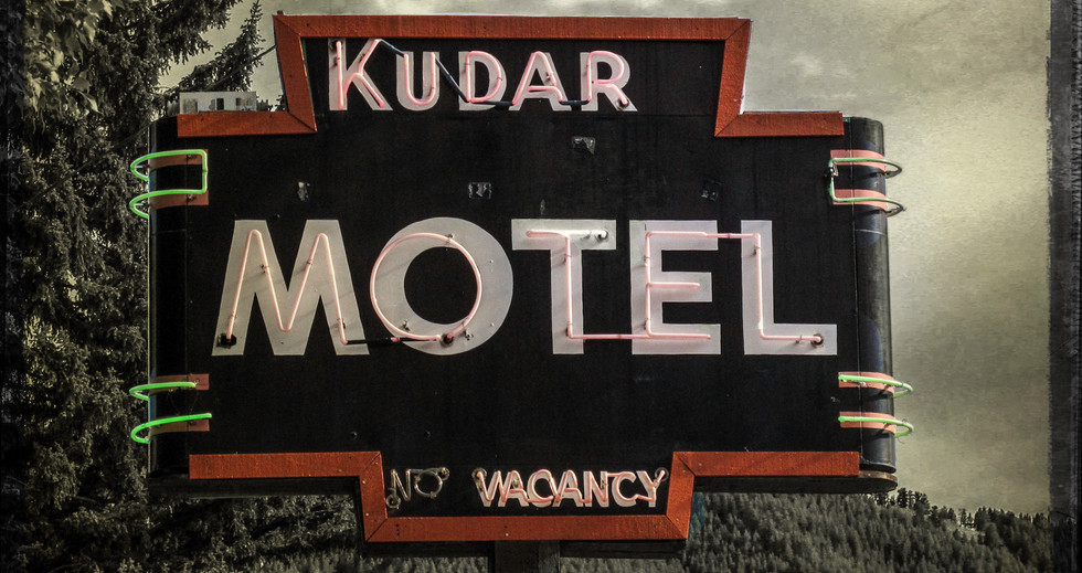 Kudar Motel Sign Jackson Hole Wyoming 2014 .jpg