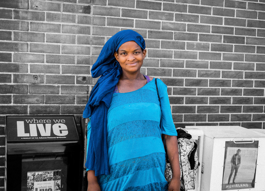 Unidentified Street Person
