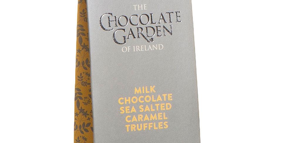 Handmade Milk Chocolate Sea Salted Carmel Pouch