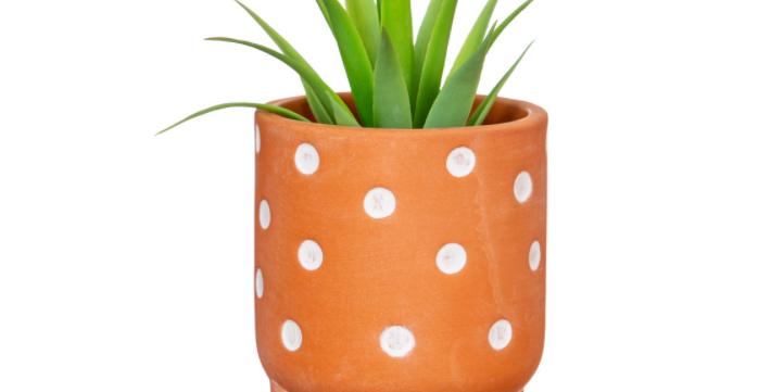 Polka Dot Leggy Planter