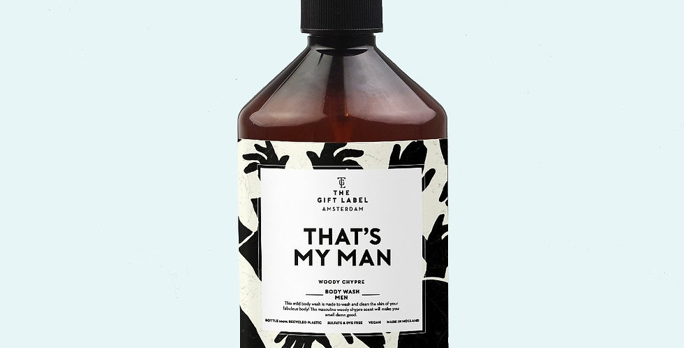 The Gift Label – That's My Man Body Wash
