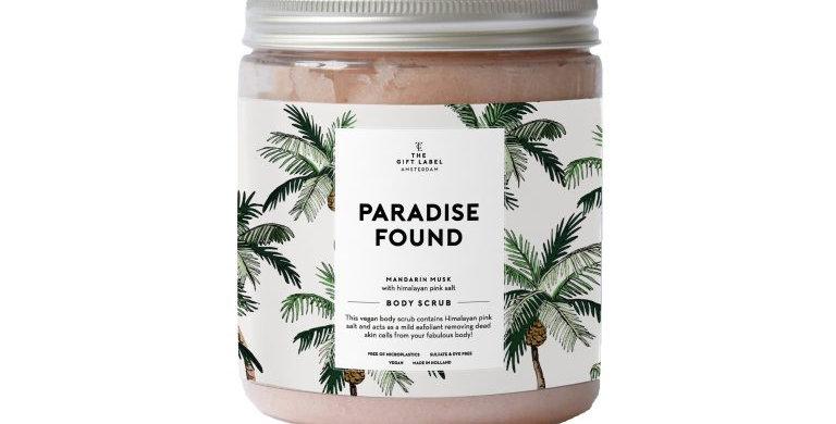 The Gift Label – Paradise Found Vegan Body Scrub