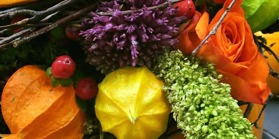 Autumnal Floral Arrangement