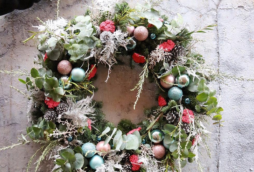 Custom Fresh Spruce Wreath