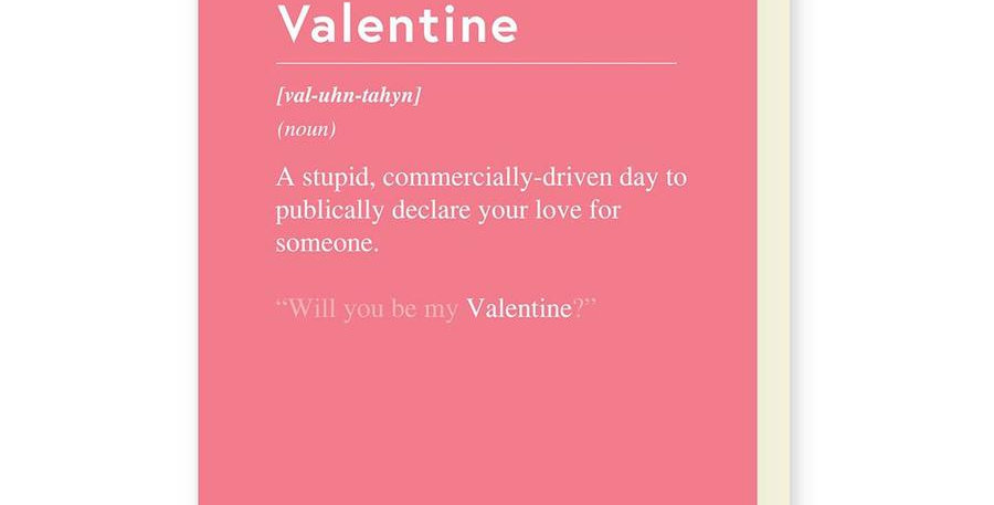 Valentines Commercially Driven Day