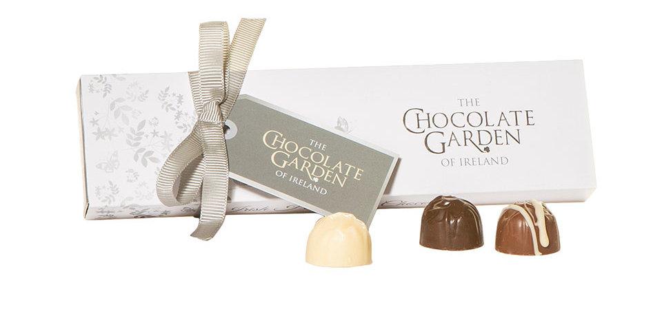 Artisan selection of 6 Handmade Chocolates