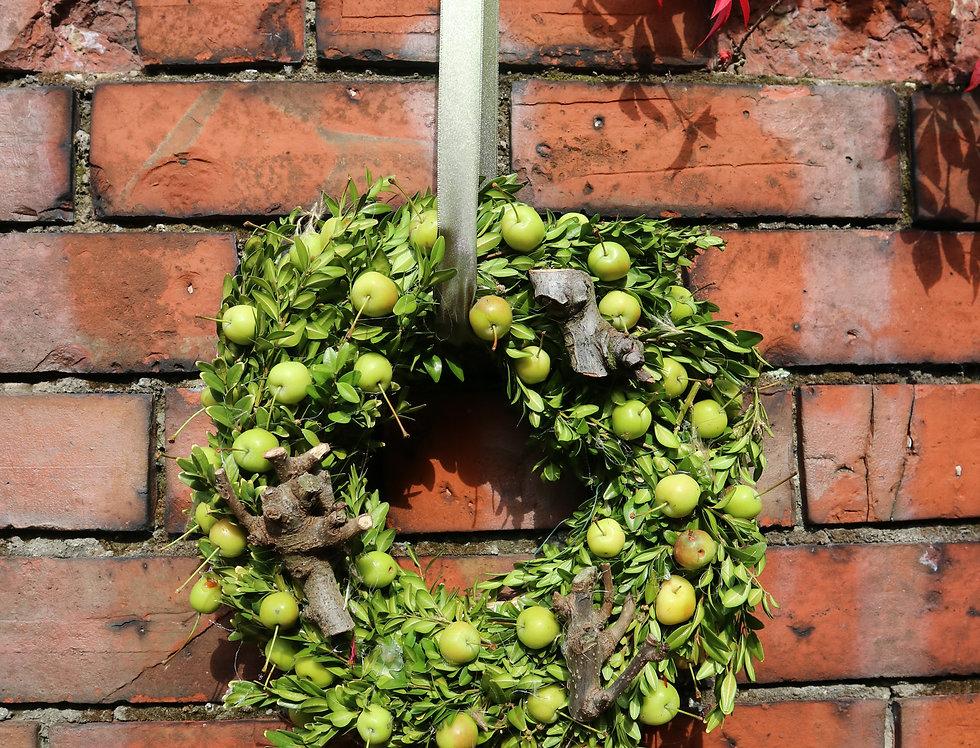Autumnal Apple Wreath
