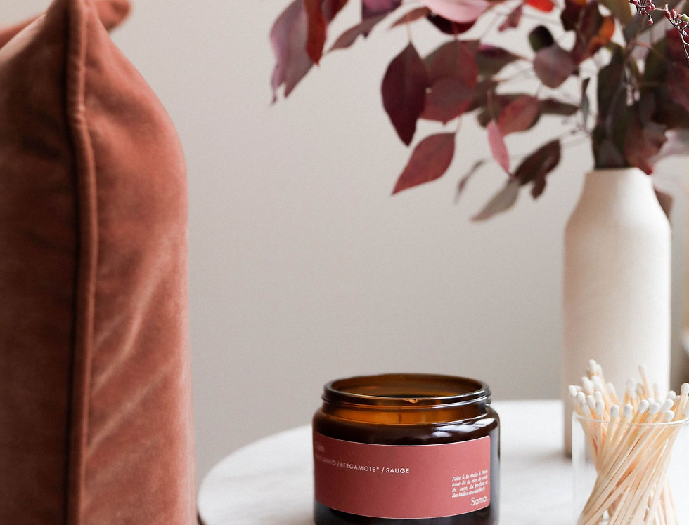 Calm - Palo Santo/Bergamot/Sage Candle